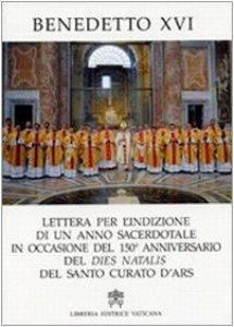 Copertina di 'Lettera per l'Indizione di un anno Sacerdotale'