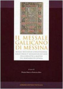 Copertina di 'Il Missale Gallicano di Messina'