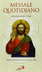 Copertina di 'Messale quotidiano. Domenicale, festivo e feriale. Letture bibliche dai nuovi lezionari CEI'