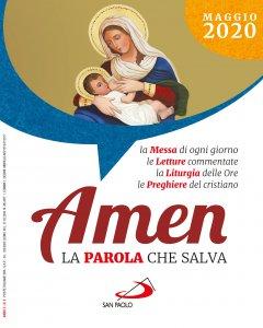 Copertina di 'Amen. La parola che salva. Maggio 2020'