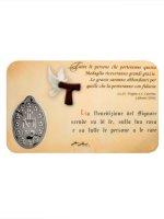 Immagine di 'Card medaglia San Pio (10 pezzi)'