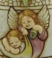 Immagine di 'Campana in resina con angelo custode - 7,2 cm'