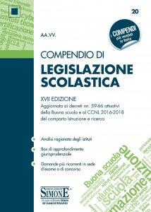 Copertina di 'Compendio di Legislazione Scolastica'