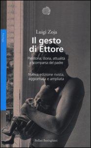 Copertina di 'Il gesto di Ettore. Preistoria, storia, attualità e scomparsa del padre. Ediz. illustrata'