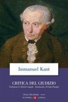 Critica del Giudizio - Immanuel Kant