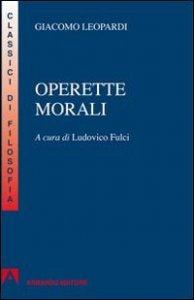 Copertina di 'Operette morali'