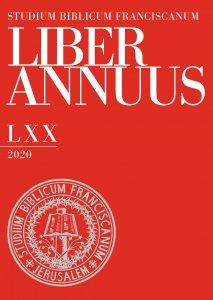 Copertina di 'Liber Annuus LXX-2020'