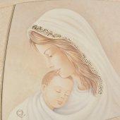 """Immagine di 'Quadro """"Madonna col Bambino"""" con cornice'"""