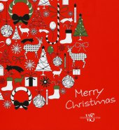 Merry Christmas. Colouring book