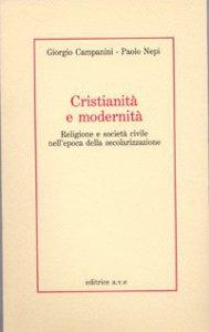 Copertina di 'Cristianità e modernità'