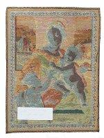 """Immagine di 'Arazzo sacro """"Madonna Aldobrandini"""" - dimensioni 33x25 cm'"""