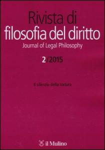 Copertina di 'La Rivista di filosofia del diritto-Journal of Legal Philosophy (2015)'
