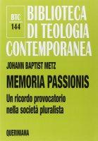 Memoria passionis - Johann Baptist Metz