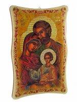 """Quadretto """"Santa Famiglia"""" - 23 x 15 cm"""