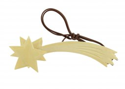 Copertina di 'Cometa in legno con luce (3,5 V) ? Bertoni presepe linea Natale'