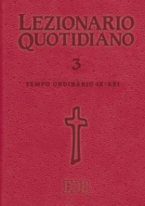 Copertina di 'Lezionario quotidiano. Volume  3'