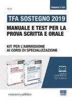 TFA Sostegno 2019. Manuale e test per la prova scritta e orale - Boccia Pietro