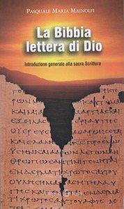Copertina di 'La Bibbia lettera di Dio'