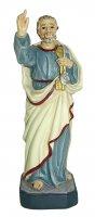 Statua di San Pietro da 12 cm in confezione regalo con segnalibro in IT/EN/ES/FR