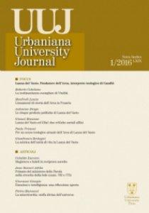 Copertina di 'Urbaniana University Journal. Euntes Docete LXIX/1 2016: Focus - Lanza del Vasto. Fondatore dell'Arca'