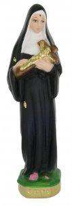 Copertina di 'Statua Santa Rita in gesso dipinta a mano - 20 cm'
