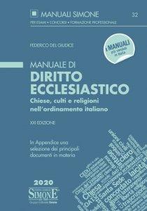 Copertina di 'Manuale di Diritto Ecclesiastico'