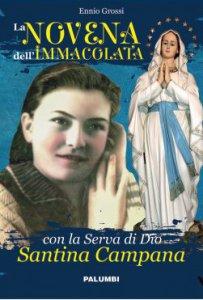 Copertina di 'La Novena dell'Immacolata con la Serva di Dio Santina Campana'