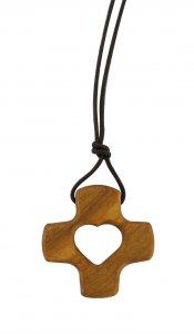 Copertina di 'Ciondolo Croce Dehoniana in legno di ulivo'