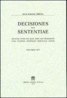 Rotae Romanae decisiones seu sententiae (2003)