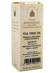 Copertina di 'Tea tree oil 12 ml.'