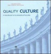 Quality culture - Congregazione Educazione Catt.