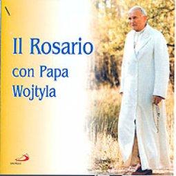 Copertina di 'Rosario con Papa Wojtyla'
