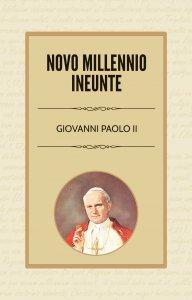 Copertina di 'Novo Millennio Ineunte'