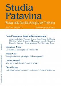 Copertina di 'Studia Patavina 2014/3'