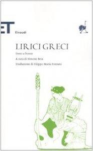 Copertina di 'Lirici greci. Testo greco a fronte'