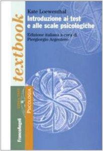 Copertina di 'Introduzione ai test e alle scale psicologiche'