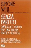Senza partito - Simone Weil