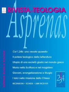 Copertina di 'Asprenas n. 1/2019'