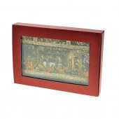 """Immagine di 'Icona in legno massello """"Ultima Cena"""" - dimensioni 15x10 cm'"""