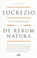 De rerum natura. Testo latino a fronte. Con ebook - Lucrezio Caro Tito
