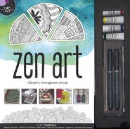 Copertina di 'Zen Art. Rilassarsi, immaginare, creare. Ediz. a colori. Con gadget'