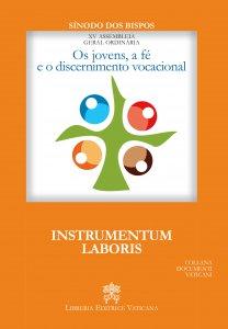 Copertina di 'Os jovens, a fé e o discernimento vocacional. Instrumentum laboris'