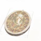 """Immagine di 'Icona ovale """"Via Crucis"""" - dimensioni 14,5x10,5 cm'"""
