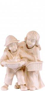 Copertina di 'Coppia di bambini H.K. - Demetz - Deur - Statua in legno dipinta a mano. Altezza pari a 11 cm.'