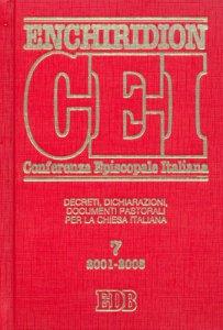Copertina di 'Enchiridion CEI. 7'