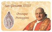 Card medaglia Giovanni XXIII (10 pezzi)