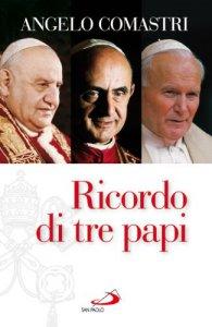 Copertina di 'Ricordo di tre papi'