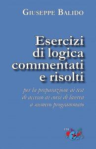 Copertina di 'Esercizi di logica commentati e risolti'