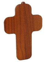 "Immagine di 'Croce in legno ""Ultima cena"" - dimensioni 13x9 cm'"