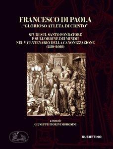 """Copertina di 'Francesco di Paola """"Glorioso atleta di Cristo""""'"""